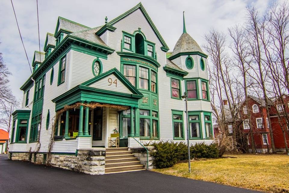 1895 Victorian In Plattsburgh New York