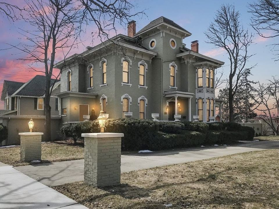 1874 Fletcher-Gould House In Owosso Michigan