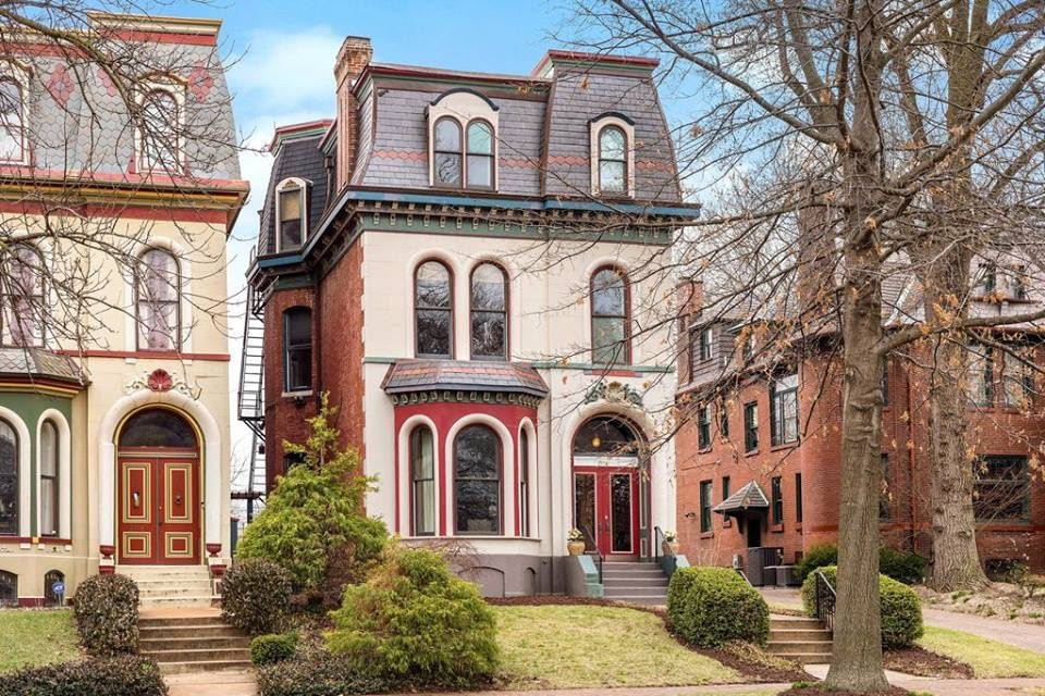 1870 Victorian Painted Lady For Sale In St Louis Missouri