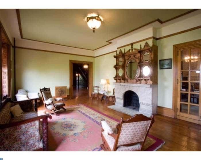 Pennsylvania 1887 The Brooke Mansion