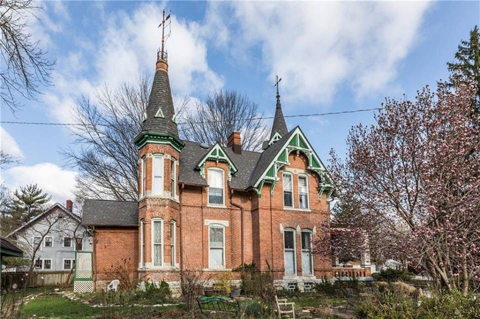 Indiana 1876 Historic Victorian Gothic House