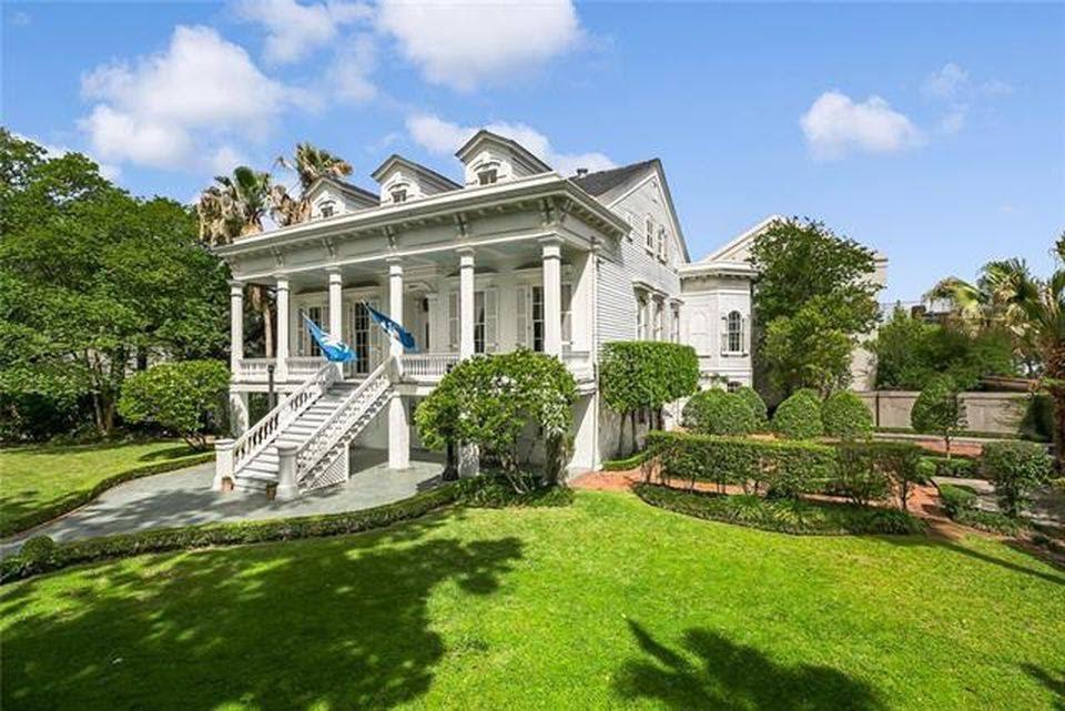 Louisiana 1866 Raised Center Hall Villa