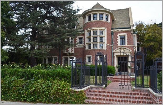 1908 Famous Alfred Rosenheim Mansion In Los Angeles California