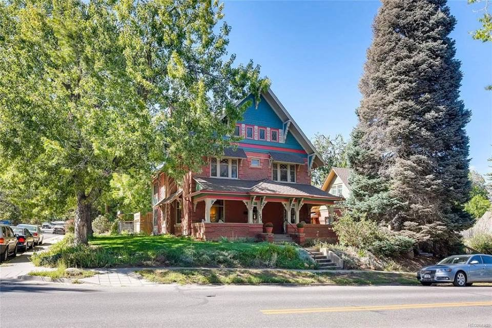 1899 Charming Historic Craftsman For Sale In Boulder Colorado