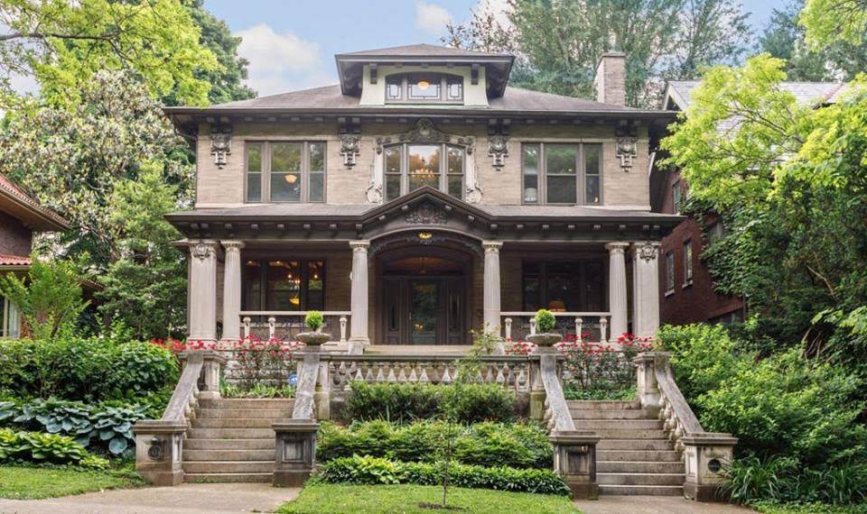 1913 Stone Mansion For Sale In Louisville Kentucky