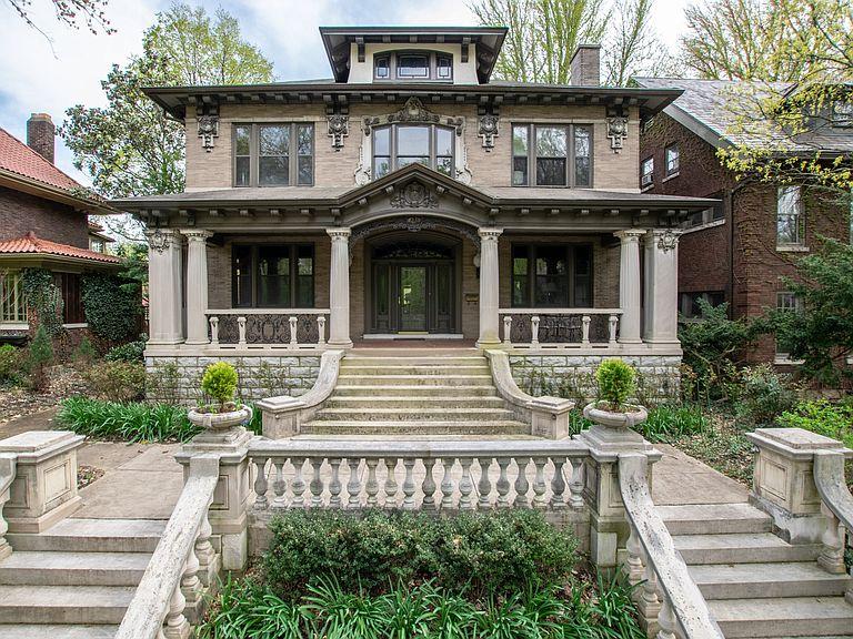 1913 Stone Mansion In Louisville Kentucky
