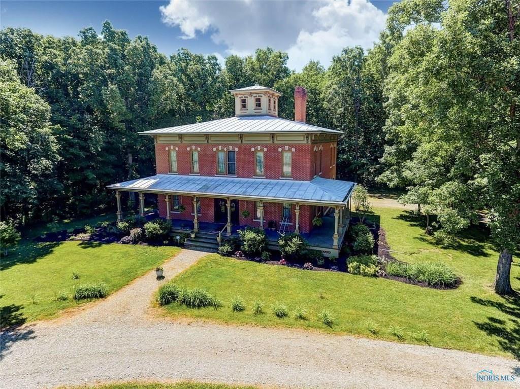 1992 Farmhouse On 36 Acres In Findlay Ohio