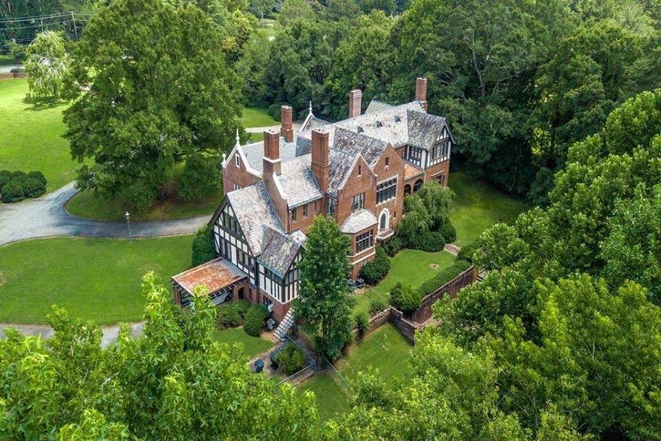 1924 English Tudor For Sale In Newnan Georgia