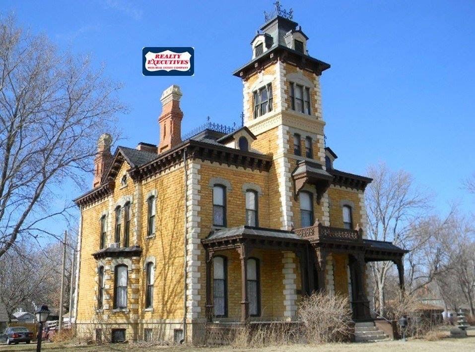 1880 Lebold Mansion In Abilene Kansas