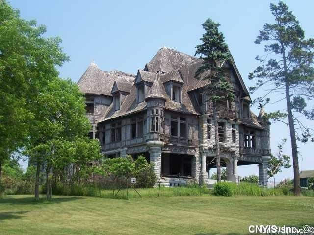 1895 Abandoned Mansion For Sale In Cape Vincent New York