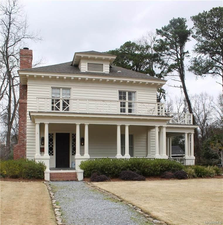 1920 Foursquare For Sale In Montgomery Alabama