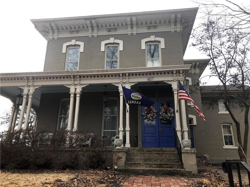 1874 Italianate For Sale In Leavenworth Kansas