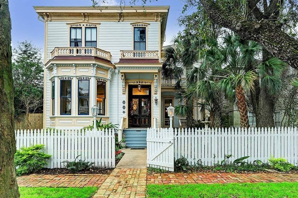 1886 Victorian For Sale In Galveston Texas