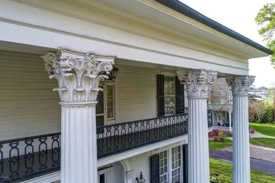 1857 Greek Revival For Sale In Franklin Louisiana