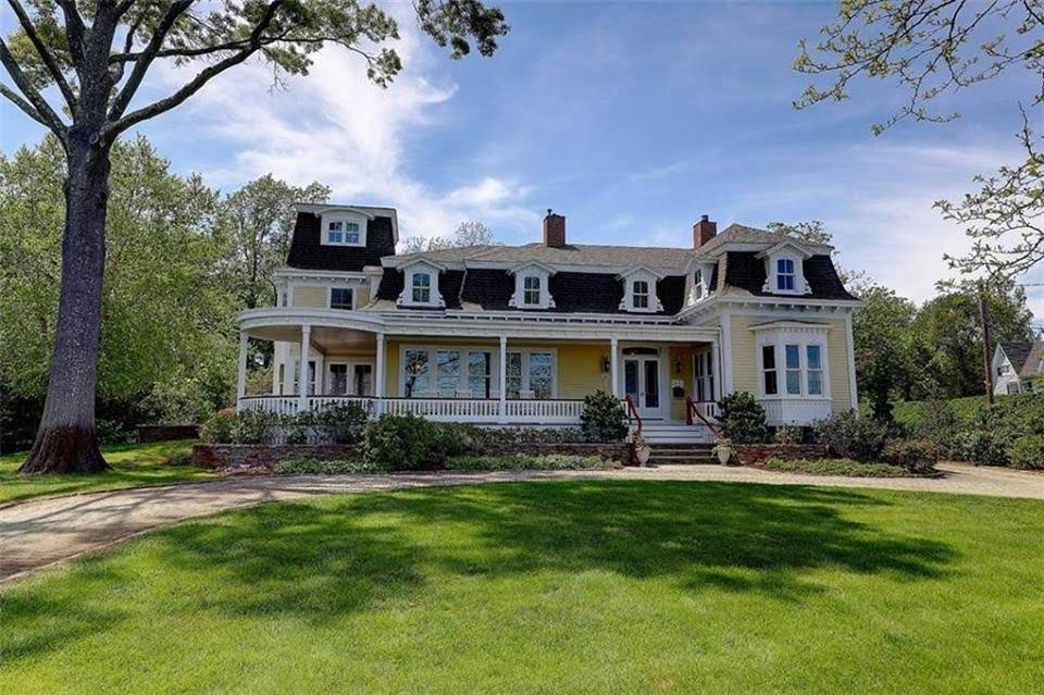 1873 Second Empire For Sale In Barrington Rhode Island