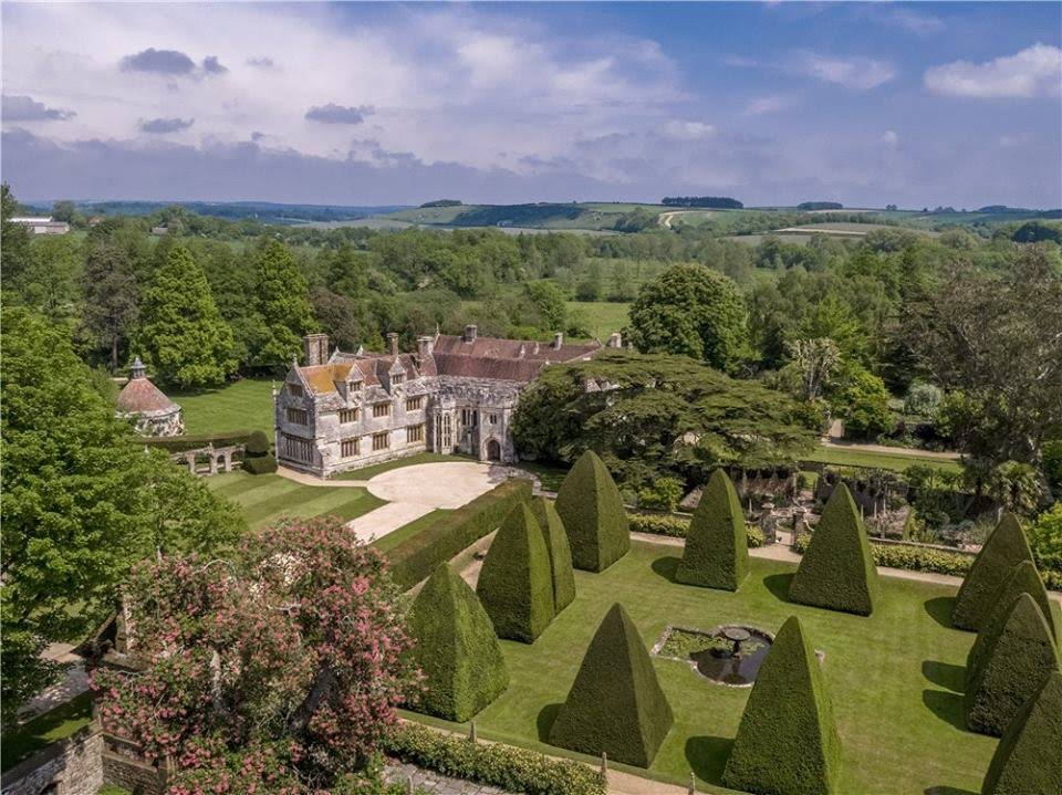 1485 Athelhampton Tudor In Dorset United Kingdom