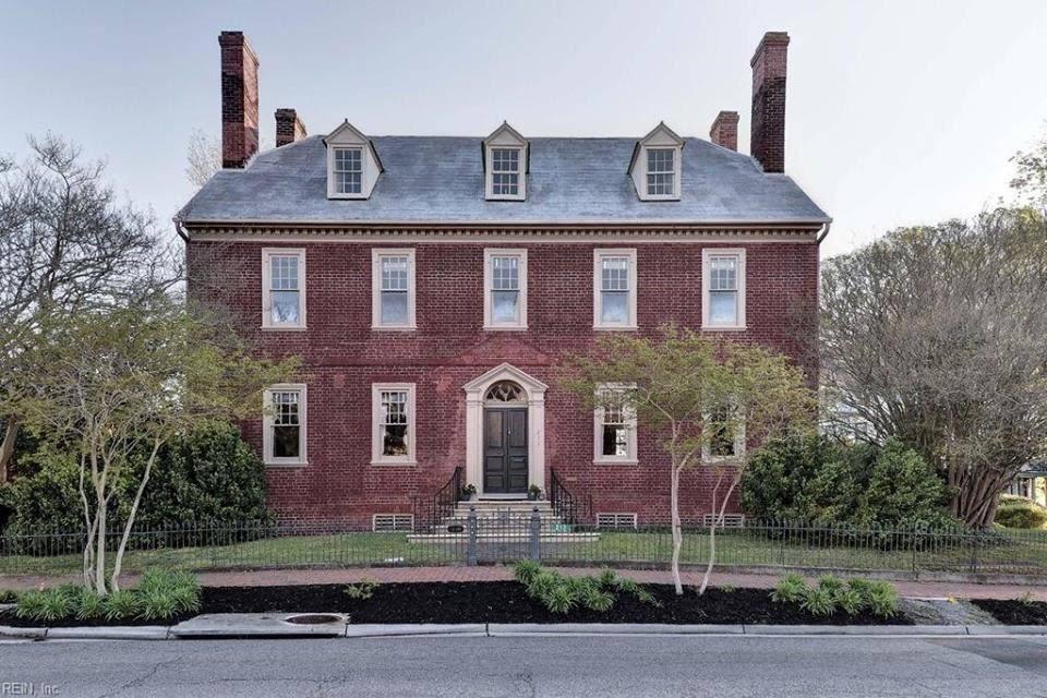 1797 Atkinson-King House In Smithfield Virginia