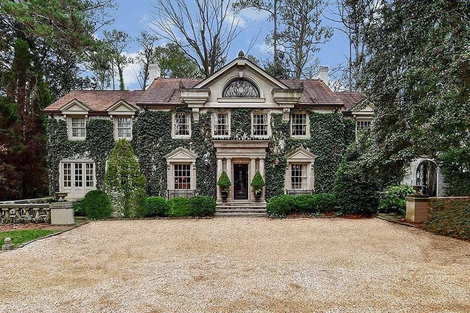 1940 Mansion In Atlanta Georgia Captivating Houses