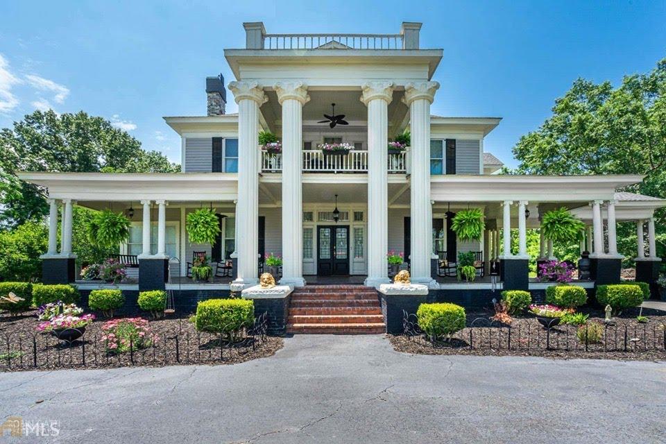 1906 Neoclassical For Sale In Hawkinsville Georgia