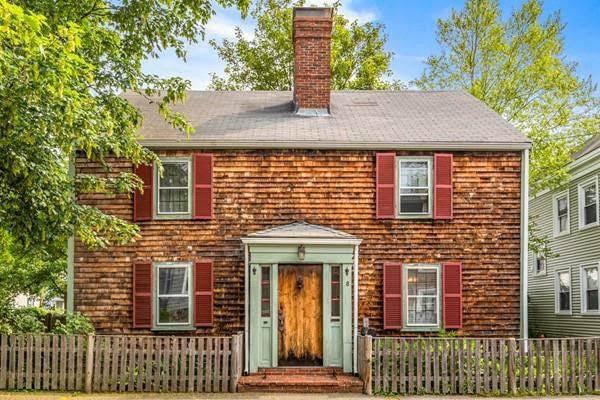 1750 Colonial In Salem Massachusetts
