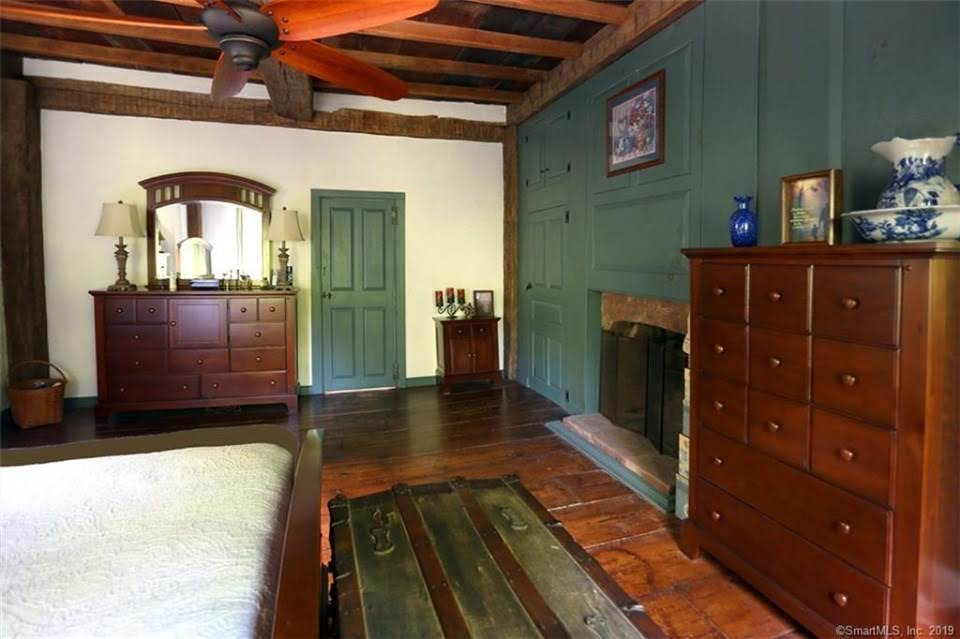 1740 Pre-Revolutionary Saltbox For Sale In Marlborough Connecticut