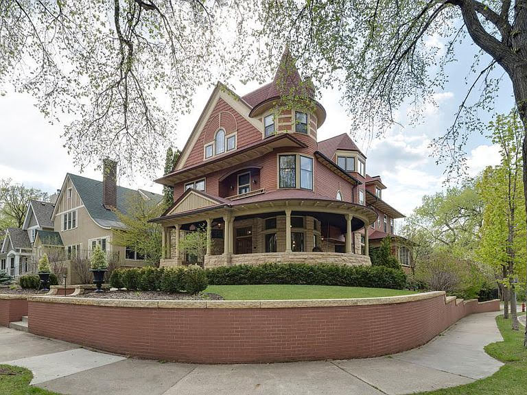 1900 Queen Anne For Sale In Minneapolis Minnesota