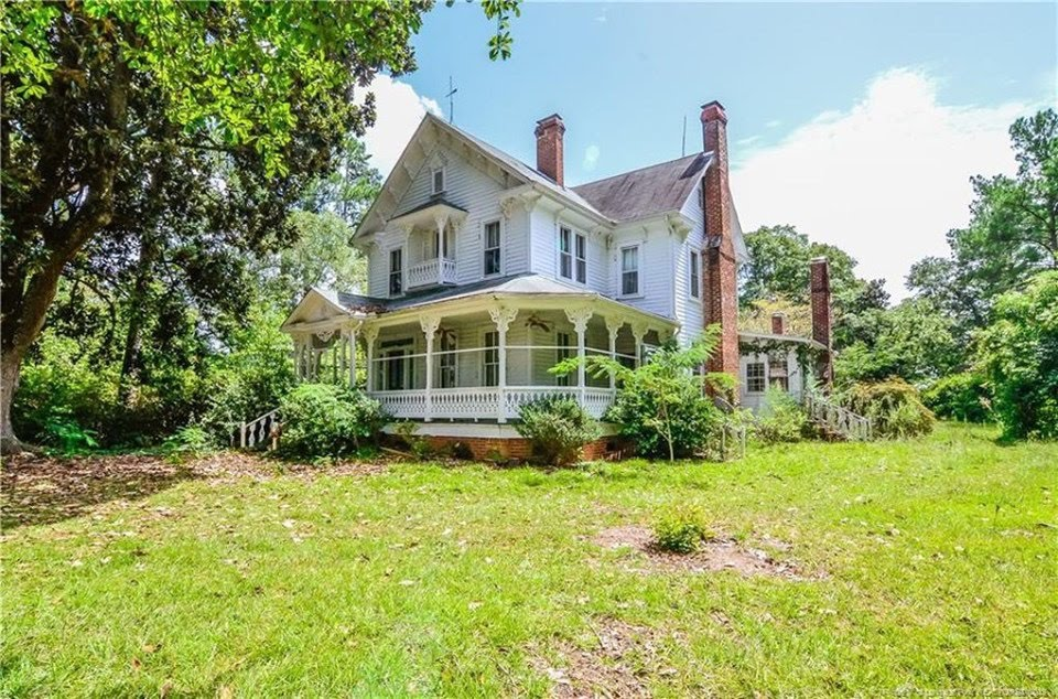 1885 Farmhouse For Sale In Laurinburg North Carolina