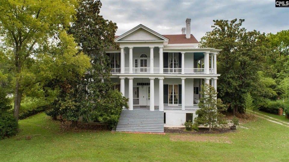1832 Greek Revival In Camden South Carolina
