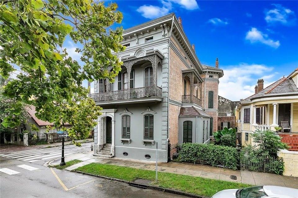 1875 Italianate For Sale In New Orleans Louisiana