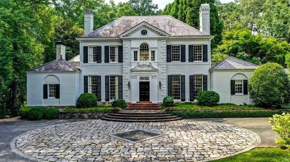 1940 Mansion In Atlanta Georgia