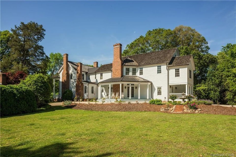 1828 Farmhouse For Sale In Charlotte North Carolina