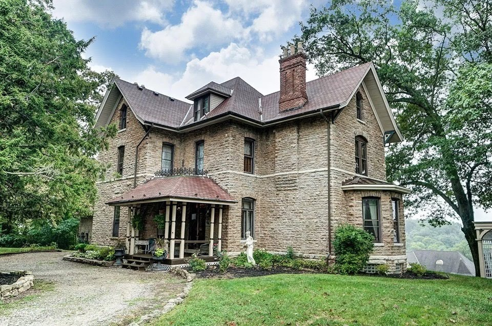 1872 Stone House In North Bend Ohio