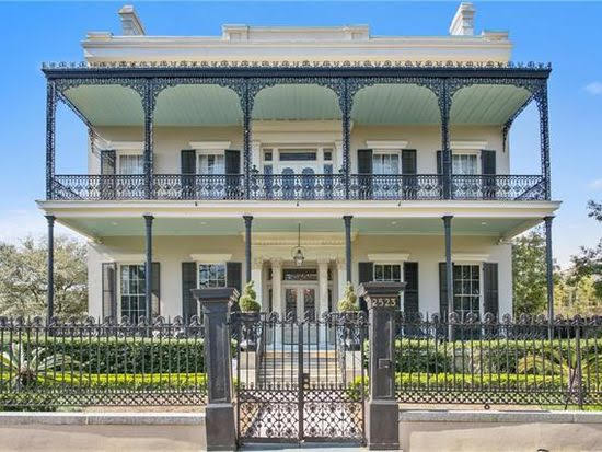 1856 Mansion In New Orleans Louisiana