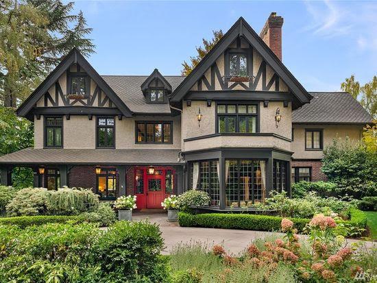 1910 Tudor In Seattle Washington