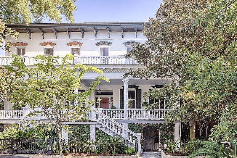 1880 Italianate For Sale In Savannah Georgia