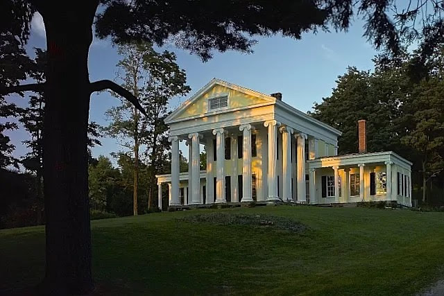 1843 Greek Revival For Sale In Orwell Vermont