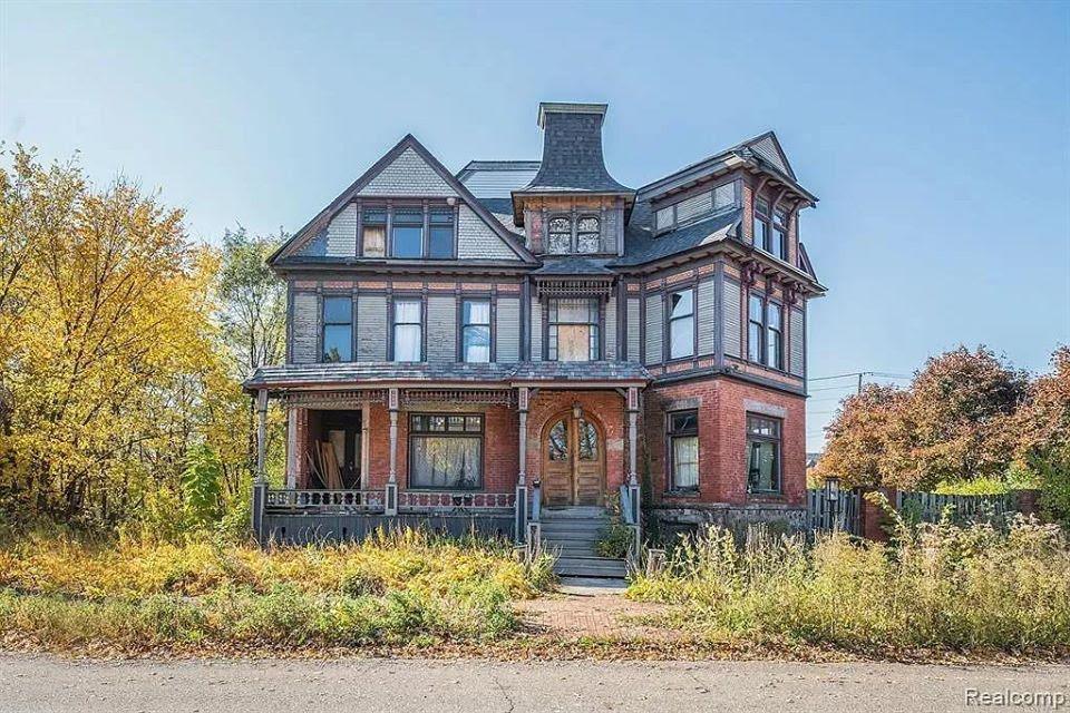 1900 Fixer Upper For Sale In Detroit Michigan