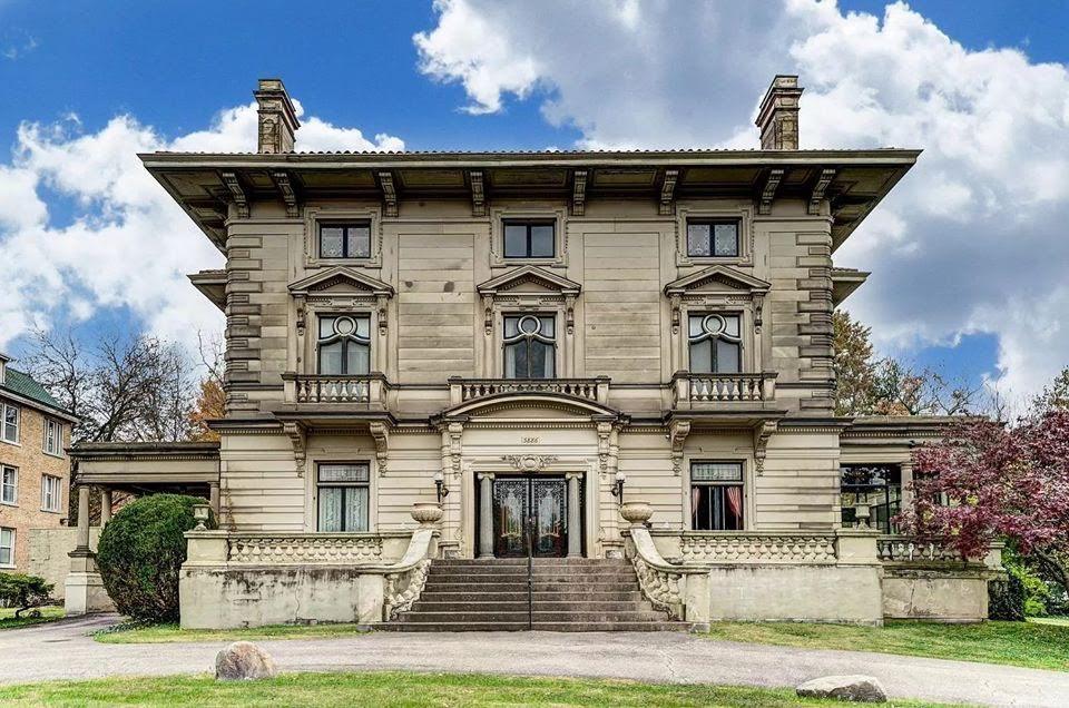 1908 Herschede Mansion For Sale In Cincinnati Ohio