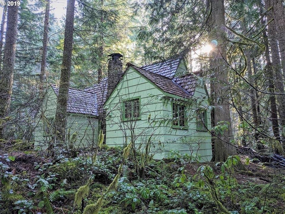 1935 Cabin In Government Camp Oregon
