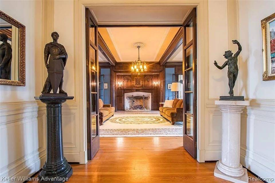 1914 Kresge Mansion For Sale In Detroit Michigan