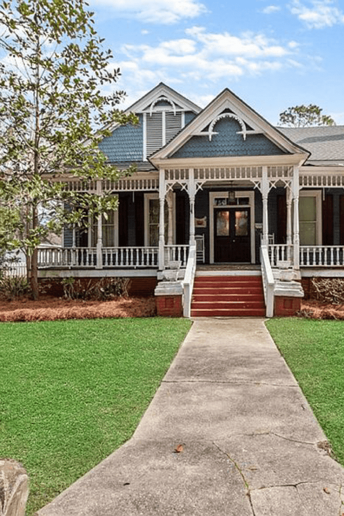 1872 Victorian For Sale In Eufaula Alabama