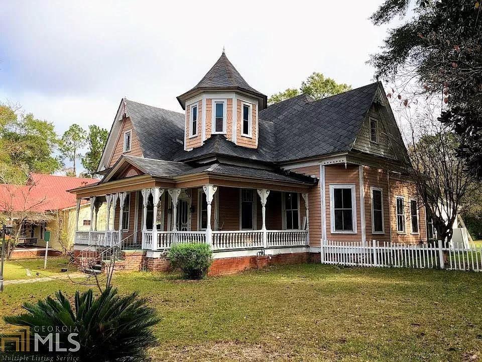 1890 Victorian For Sale In Wrightsville Georgia