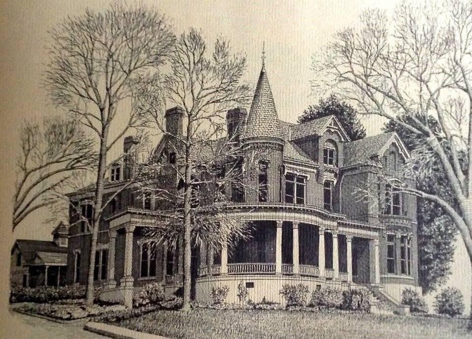 1887 Burke Mansion For Sale In Macon Georgia