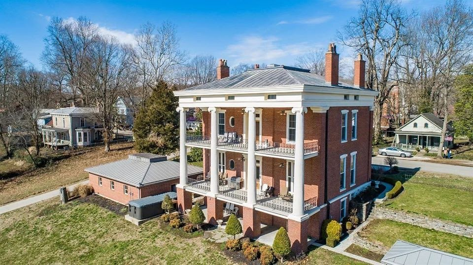 1844 Greek Revival For Sale In Vevay Indiana