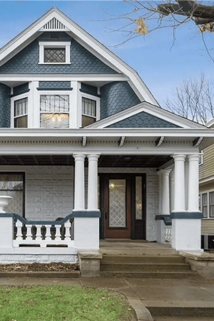 1910 Dutch Colonial For Sale In Indianapolis Indiana