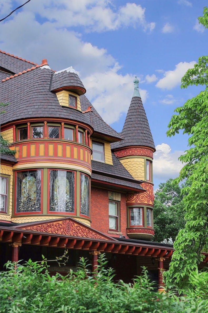 1893 Craig Adams Marsh Mansion For Sale In Plainfield New Jersey