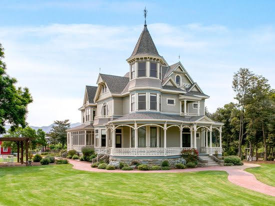 1894 Queen Anne For Sale In Santa Paula California