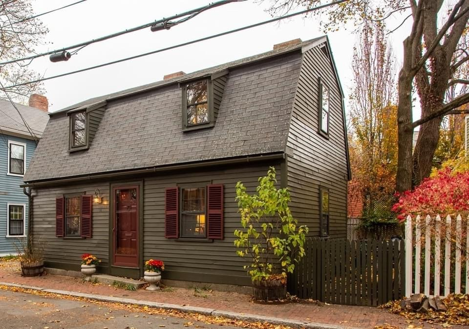1740 Colonial For Sale In Salem Massachusetts