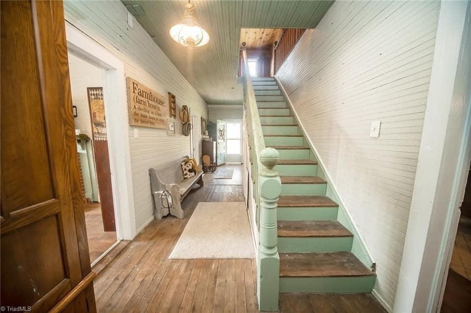 1917 Farmhouse For Sale In Liberty North Carolina