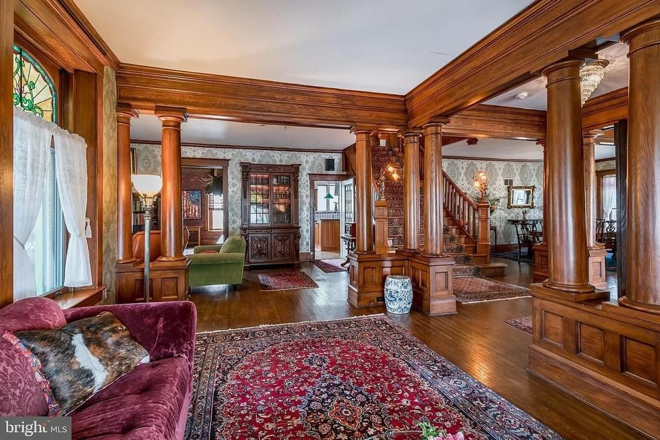 1912 Mansion For Sale In Adamstown Pennsylvania